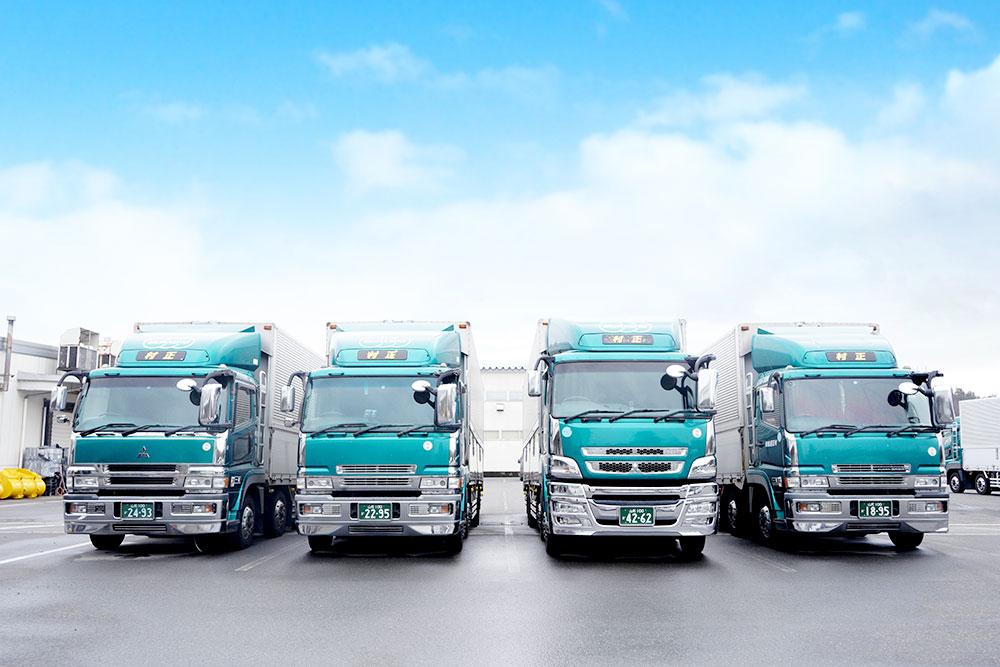 村正運輸株式会社 大型トラック