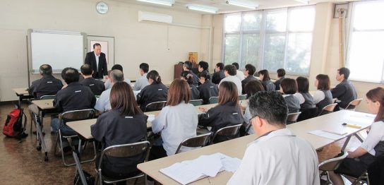 村正運輸社員研修会
