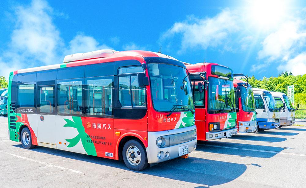 行政委託によるバス運営も村正運輸株式会社にお任せください